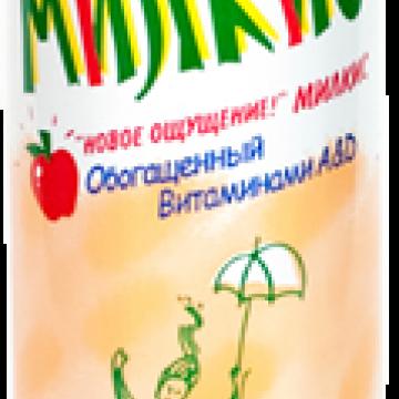 Напиток газированный Милкис Яблоко, Lotte 250 мл