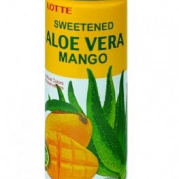 Напиток Алоэ-вера-Манго, т.м Lotte 240 мл