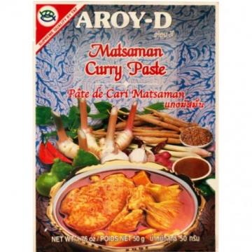 Паста для Массаман карри Aroy-D 50 г