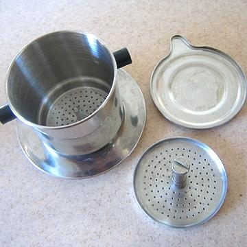 Вьетнамская кофеварка-фильтр 7Q (150 мл)