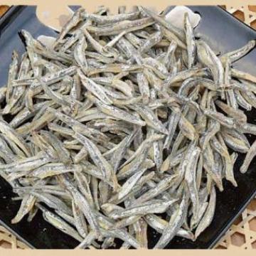 Анчоус японский сушеный (мельчи) 3-4 см 200 г