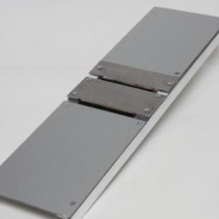 Шинковка-терка для корейской моркови (металл) с двумя ножами