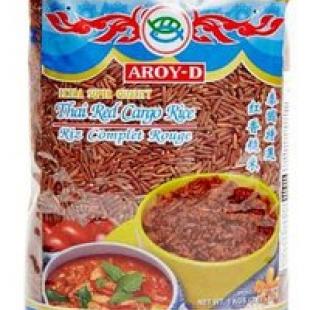 Красный рис карго (длиннозерный) Aroy-D, Таиланд, 1 кг