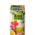 Кокосовая вода с соком ананаса, манго и маракуйи 250мл