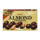 """Миндаль в молочном шоколаде """"Алмонд шоколадные шарики"""" LOTTE, 35г"""