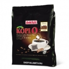 Молотый кофе в пакетиках ПРЕМИУМ «KOPI-O, 2-в-1» Gold Kili 510 г (30 саше по 17г)
