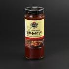 Корейский соус-маринад острый для курицы Пэксуль Корея 490 г