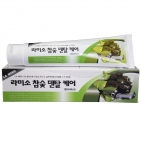 Зубная паста с древесным углем LA MISO Hardwood Charcoal Dental Care Toothpaste, Корея 150 г