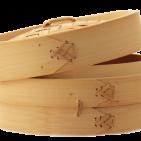 Бамбуковая пароварка 18 см