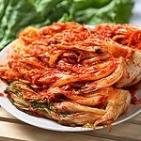 Кимчи — квашенная целиком капуста по южно-корейски (острая), 900 г