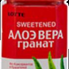 Напиток Алоэ-вера-Гранат, Lotte 1,5 л
