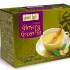 Быстрорастворимый напиток зеленый чай и женьшень Gold Kili