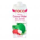 Кокосовая вода с личи FOCO