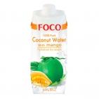 Кокосовая вода с манго FOCO
