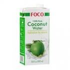 Кокосовая вода FOCO 100% 1 л.