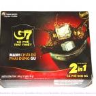 Вьетнамский кофе быстрорастворимый G7 2 в 1 с сахаром (15 шт.Х16г)