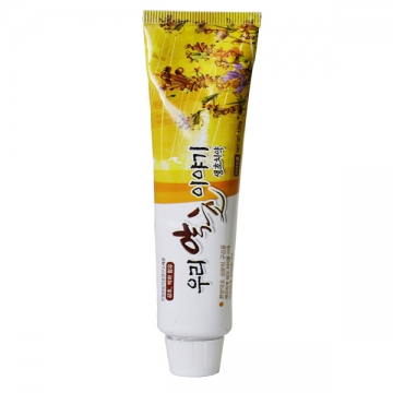 Зубная паста с перечной мятой Herb story, Hyundai Entec, Корея 120 гр