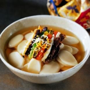 Тток - корейские рисовые клецки для Ттоккук (полуфабрикат) 1 кг
